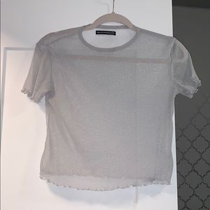 Sheer Top from Brandy Melville.